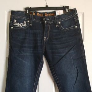 rock revival crop jeans brand new with tags